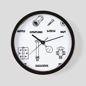 2-sexy-parts-LTT Wall Clock