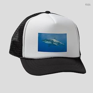 Great white shark Kids Trucker hat