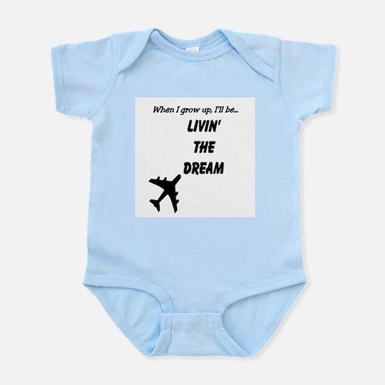 Living The Dream Infant Bodysuit