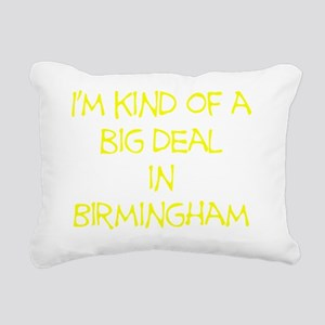 BigDealInBirminghamYello Rectangular Canvas Pillow