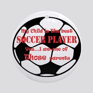 soccer Round Ornament