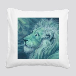 Firefly Square Canvas Pillow