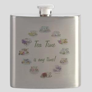 TeaTime Clock Flask