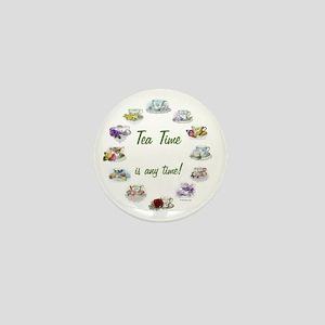 TeaTime Clock Mini Button