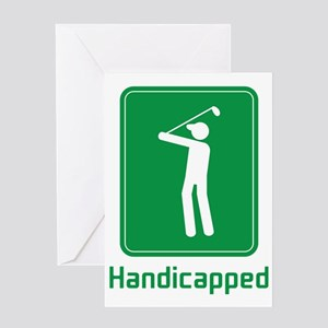 Handicapped Greeting Card