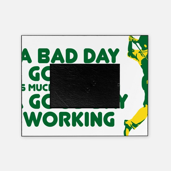 A Bad Day Golfing Picture Frame
