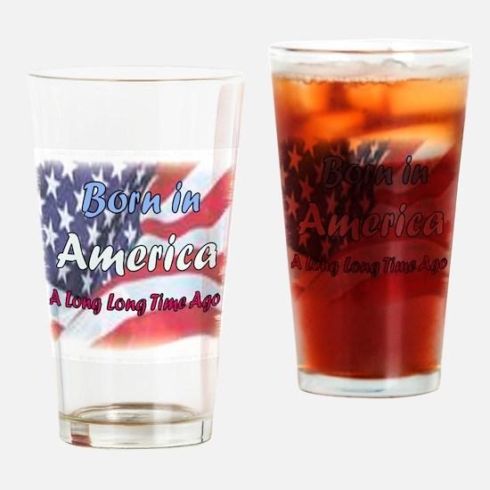 am.flag Drinking Glass