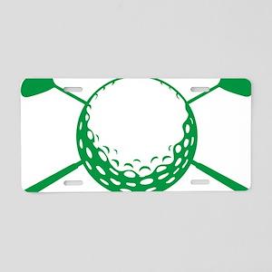 Golf D Aluminum License Plate