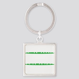Golf Driving Sequence copy Square Keychain