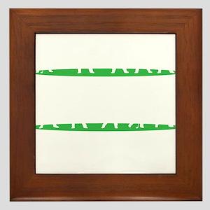 Golf Driving Sequence copy Framed Tile
