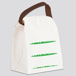 Golf Driving Sequence copy Canvas Lunch Bag