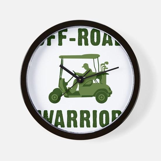 Off-Road Warrior Wall Clock