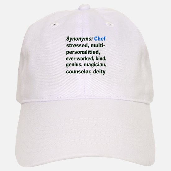 Synonyms: Chef Baseball Baseball Cap