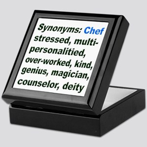Synonyms: Chef Keepsake Box