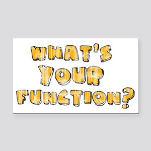 Whats Your Function Rectangle Car Magnet