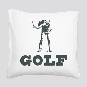 What Wankers Do On Weekends Square Canvas Pillow
