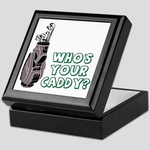 Who's Your Caddy Keepsake Box