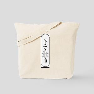 """Abdullah in Hieroglyphics """"Bl Tote Bag"""
