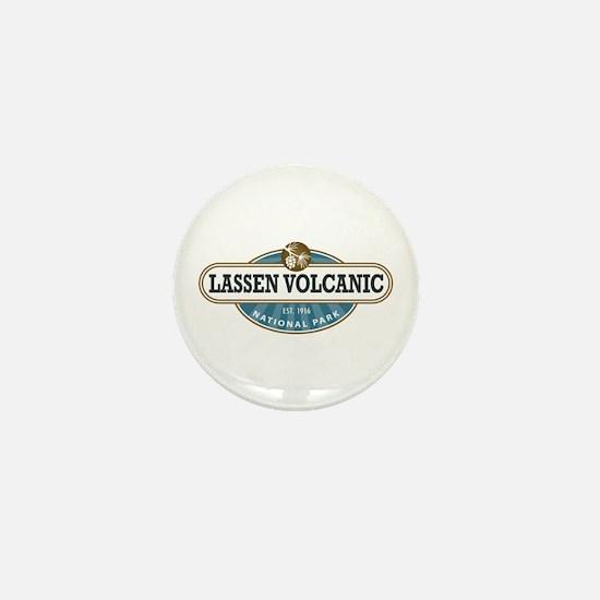 Lassen Volcanic National Park Mini Button
