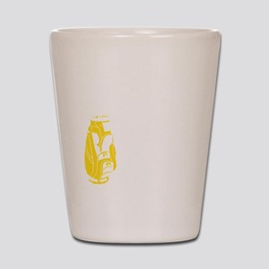 Whos Your Caddy copy Shot Glass