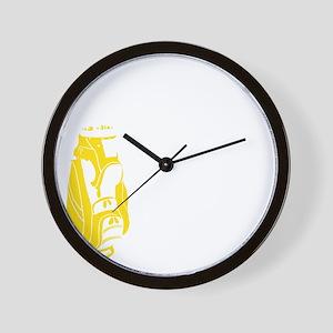 Whos Your Caddy copy Wall Clock
