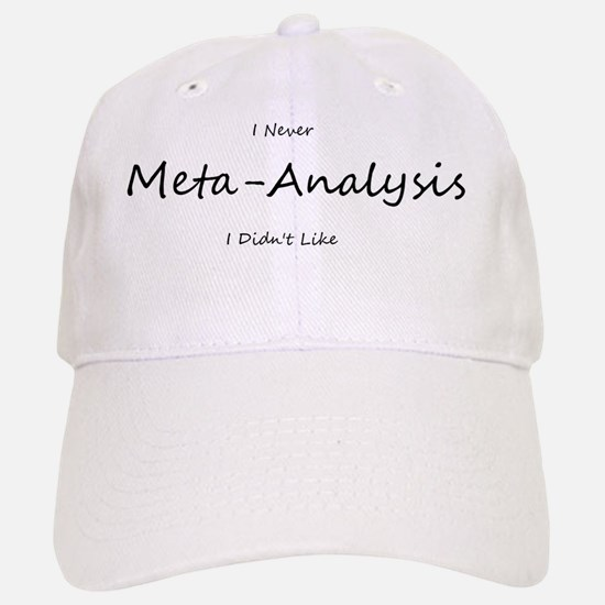 meta-analysis Baseball Baseball Cap