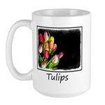 Tulips 15 oz Ceramic Large Mug
