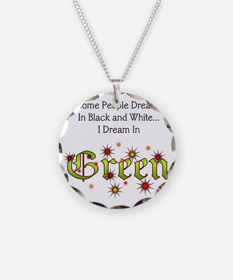 Dream-Green lg Necklace