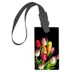 Tulips Large Luggage Tag