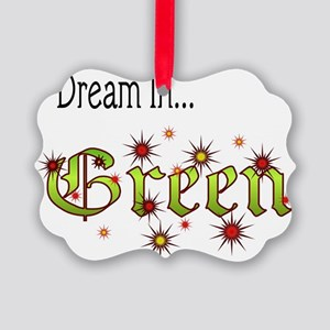 2-Dream In Green Picture Ornament