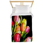 Tulips Twin Duvet Cover