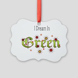 Dream-Green2 Picture Ornament