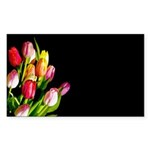 Tulips Sticker (Rectangle 10 pk)