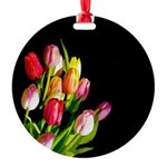 Tulips Round Ornament