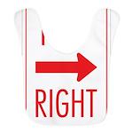 Keep Right 10 Bib