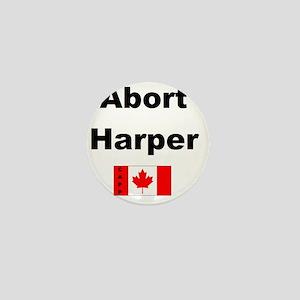 Abort Harper Mini Button
