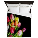 Tulips Queen Duvet