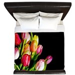 Tulips King Duvet