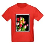 Tulips Kids Dark T-Shirt