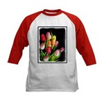 Tulips Kids Baseball Tee