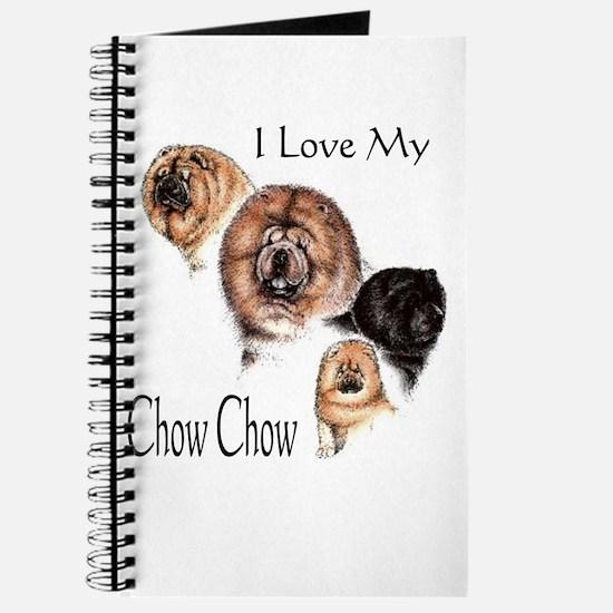 I Love my Chow Chow Journal
