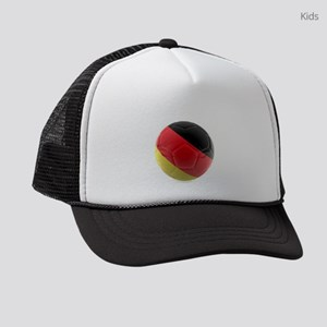Germany world cup ball Kids Trucker hat