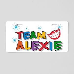 Team Alexie Aluminum License Plate