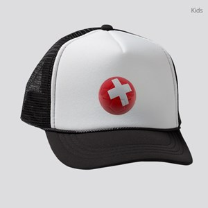 Switzerland World Cup Ball Kids Trucker hat