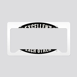lincoln-excellent-CAP License Plate Holder