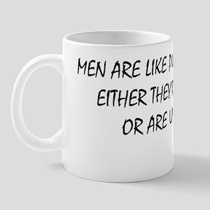 Men are like W Mug