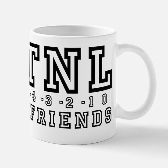 Backwards Down The Number Line Mug