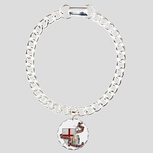 2-knights templar non no Charm Bracelet, One Charm