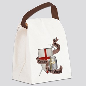 2-knights templar non nobis st ge Canvas Lunch Bag