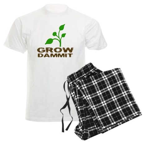 growDammitLite Men's Light Pajamas